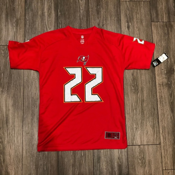 NFL Doug Martin #22 Tampa Bay Bucs Youth Jersey